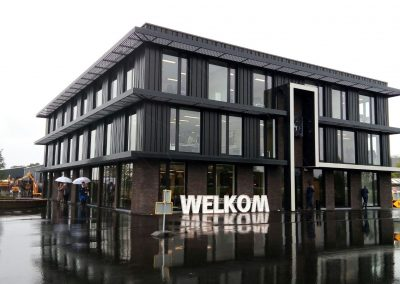 Project Hoofdkantoor H4A Sas van Gent